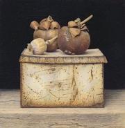 Gedroogde vruchten met papaverbollen © Aad Hofman